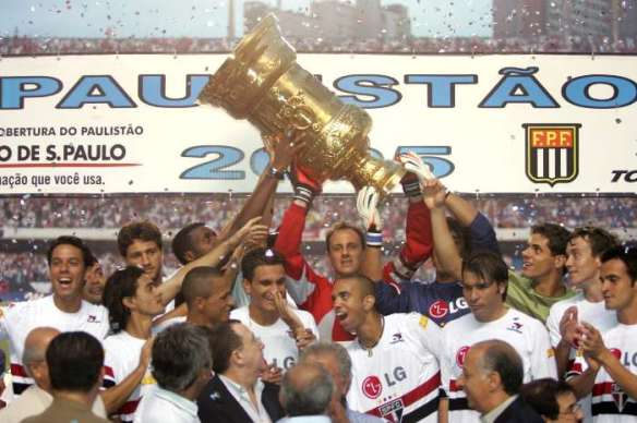 São Paulo champion Paulista de 2005